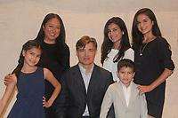 Daniel Cosgrove - wife Marie, Ruby, Esme, Lily & son Finn
