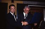 MARIO DRAGHI E ANDREA MONORCHIO  - FESTA CLUB CANOVA CASINA DI VILLA MADAMA ROMA 1996