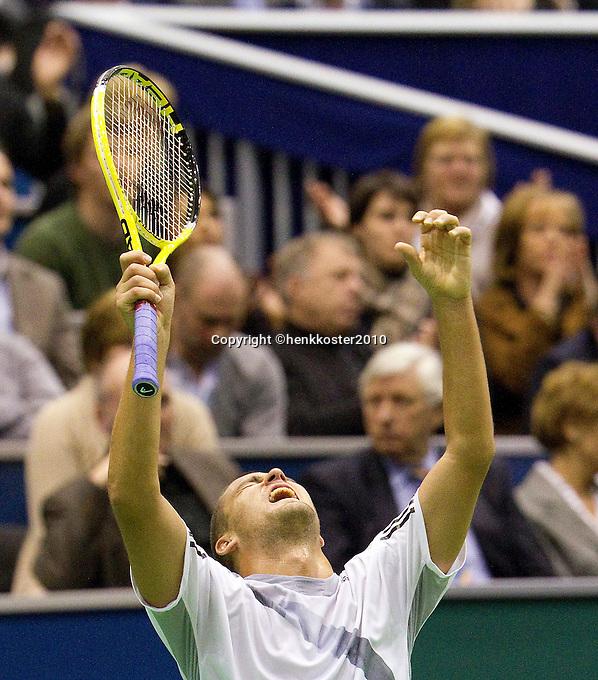 13-2-10, Rotterdam, Tennis, ABNAMROWTT,.Mikhail Youzhny