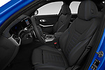 Front seat view of 2019 BMW 3-Series M-Sport 4 Door Sedan Front Seat  car photos