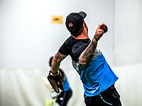 Luke Ronchi. The Black Caps train for the International Test Cricket match between the New Zealand Black Caps and West Indies at the Basin Reserve in Wellington, New Zealand on Thursday, 10 December 2020. Photo: Dave Lintott / lintottphoto.co.nz