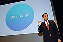 Sony Corp's New President and CEO Kazuo Hirai