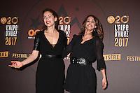 AUDREY DANA ET ALICE BELAIDI - 20EME FESTIVAL INTERNATIONAL DU FILM DE COMEDIE DE L'ALPE D'HUEZ 2017