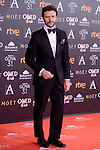 Diego Martin attends to the Red Carpet of the Goya Awards 2017 at Madrid Marriott Auditorium Hotel in Madrid, Spain. February 04, 2017. (ALTERPHOTOS/BorjaB.Hojas)