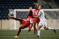 New Mexico Lobos forward James Rogers (7) during the first half against the Notre Dame Fighting Irish during the semifinals of the 2013 NCAA division 1 men's soccer College Cup at PPL Park in Chester, PA, on December 13, 2013.