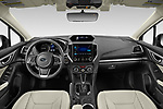 Stock photo of straight dashboard view of 2021 Subaru Impreza Limited 4 Door Sedan Dashboard