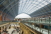 St. Pancras International, newly opened for Eurostar departures