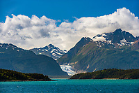 Chilkat mountain range near haines, Alaska, Lynn Canal, southeast Alaska