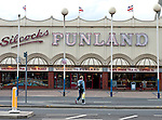 Funland in Southport Merseyside