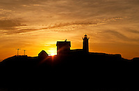 Nubble Lighthouse, Cape Neddick, York, Maine, ME, USA