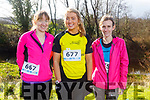 Deirdre O'Connor (Castlegregory), Ann Quane (Kilmoyley) and Linda O'Sullivan (Ardfert) ready to run the 10miler and 5k Fundraising run for the Kerry Hospice on Sunday