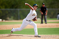 Oakland Athletics minor league pitcher AJ Cole #53 during an instructional league game against the Arizona Diamondbacks at the Papago Park Baseball Complex on October 11, 2012 in Phoenix, Arizona. (Mike Janes/Four Seam Images)
