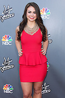 """UNIVERSAL CITY, CA, USA - APRIL 15: Tess Boyer at NBC's """"The Voice"""" Season 6 Top 12 Red Carpet Event held at Universal CityWalk on April 15, 2014 in Universal City, California, United States. (Photo by Xavier Collin/Celebrity Monitor)"""
