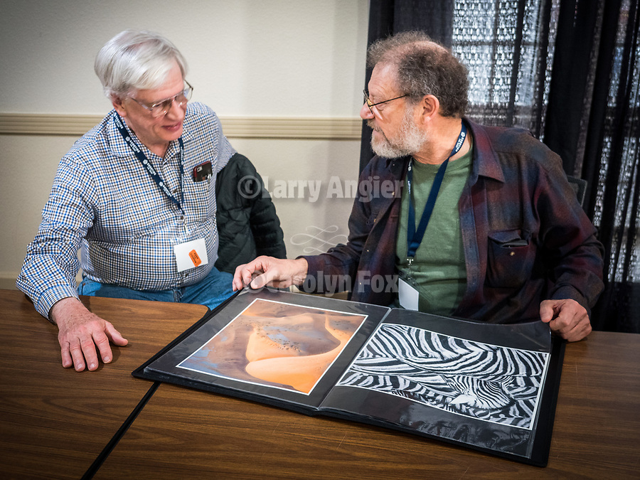 Portfolio review continues with Mark Citret, Workshops and hands' on classes at STW XXXI, Winnemucca, Nevada, April 11, 2019.<br /> .<br /> .<br /> .<br /> .<br /> @shootingthewest, @winnemuccanevada, #ShootingTheWest, @winnemuccaconventioncenter, #WinnemuccaNevada, #STWXXXI, #NevadaPhotographyExperience, #WCVA