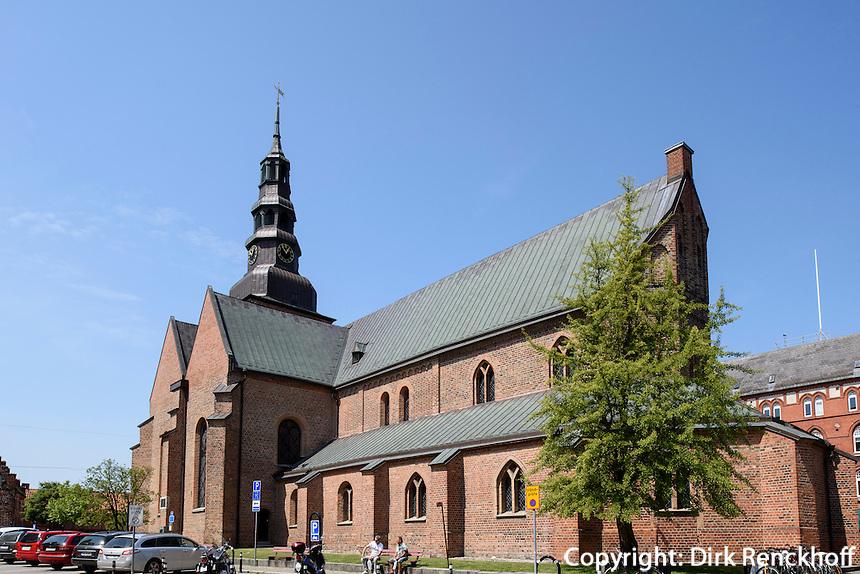 Marienkirche in Ystad, Provinz Skåne (Schonen), Schweden, Europa<br /> St. Mary Stortorget  in Ystad, Sweden