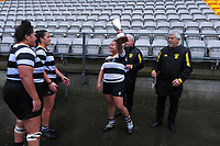 Action from the Wellington Tia Paasi Memorial Cup premier women's club rugby final between Northern United and Oriental-Rongotai at Jerry Collins Stadium in Wellington, New Zealand on Saturday, 26 June 2021. Photo: Dave Lintott / lintottphoto.co.nz