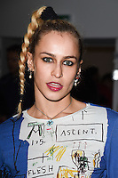 Alice Dellal<br /> at the Ashley Williams AW17 show as part of London Fashion Week AW17 at 180 Strand, London.<br /> <br /> <br /> ©Ash Knotek  D3230  17/02/2017