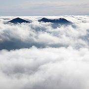 This is the image for November in the 2014 White Mountains New Hampshire calendar. Undercast from the summit of Mount Osceola in the White Mountains, New Hampshire USA. Purchase the calendar here: http://bit.ly/1audUBp .