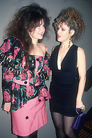 Tama Janowitz Bernadette Peters 1988<br /> Photo By Adam Scull/PHOTOlink.net