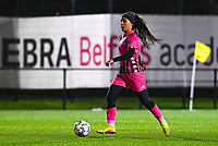 Yasaman Farmani (6) of Sporting Charleroi pictured during a female soccer game between Sporting Charleroi and SV Zulte-Waregem on the 12 th matchday of the 2020 - 2021 season of Belgian Scooore Womens Super League , friday 29 th of January 2021  in Marcinelle , Belgium . PHOTO SPORTPIX.BE | SPP | DAVID CATRY