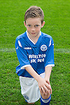 St Johnstone FC Academy Under 11's<br /> Adin Phillips<br /> Picture by Graeme Hart.<br /> Copyright Perthshire Picture Agency<br /> Tel: 01738 623350  Mobile: 07990 594431