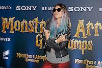 SÃO PAULO,SP, 21.10.2014 - JACK-BLACK - Mari Moon durante a Premiere do Filme Goosebumps - Monstros e Arrepios, realizado no shopping JK Iguatemi, zona sul de São Paulo, nesta quarta-feira, 21. (Foto: Douglas Pingituro/Brazil Photo Press)