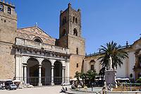 Dom in Monreale, Sizilien, Italien, UNESCO-Weltkulturerbe