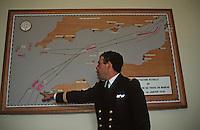 Europe/France/Bretagne/29/Finistère/Ile d'Ouessant/Le Cross Corsen(Centre Opérationnel de Surveillance et de Sauvetage) /Phare du Stiff [Non destiné à un usage publicitaire - Not intended for an advertising use]
