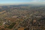Suburban development, Santa Clara Valley, California