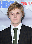 Evan Peters attends The HBO L.A. Premiere of The Normal Heart held at The WGA in Beverly Hills, California on May 19,2014                                                                               © 2014 Hollywood Press Agency