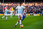 Roberto Rosales of Malaga CF in action during their La Liga match between Club Atletico de Madrid and Malaga CF at the Estadio Vicente Calderón on 29 October 2016 in Madrid, Spain. Photo by Diego Gonzalez Souto / Power Sport Images