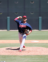 Jose Oca - Cleveland Indians 2019 extended spring training (Bill Mitchell)
