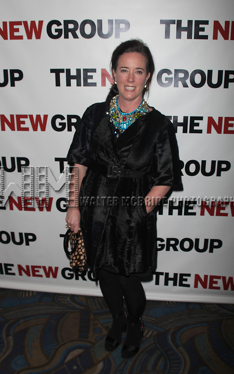 Kate Spade attending The New Group 2010 Gala Benefit honoring Robyn Goodman at B.B. King in Times Square, New York City.<br />January 25, 2010