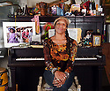 Charmaine Neville at home in the Bywater, 2018