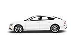 Car driver side profile view of a 2016 Audi A7 3.0 TDI Premium Plus  4 Door Hatchback