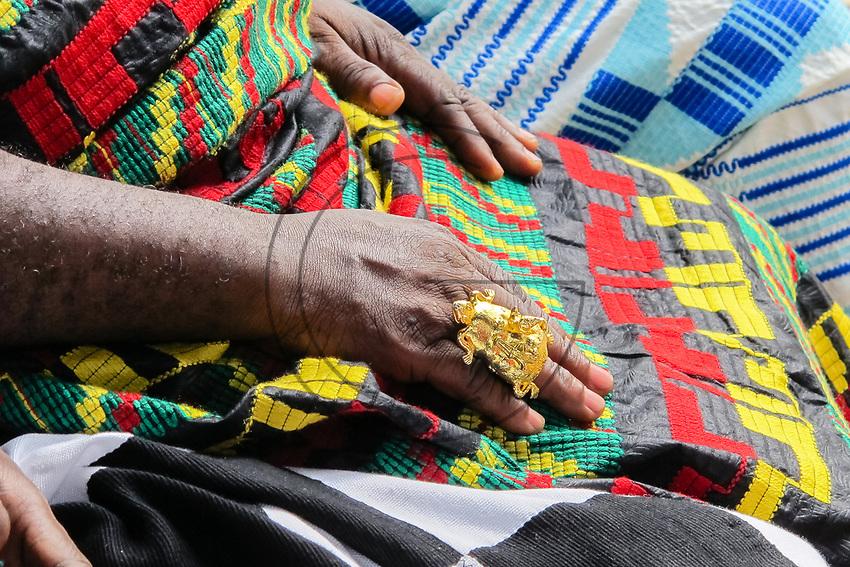 Africa, Ghana,Kumasi, gold jewelery for Ashanti people