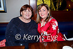 Bridie Byrne and Angela McCarthy enjoying the evening in Benners Hotel on Friday.