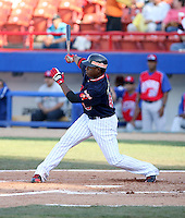 Selwyn Langaigne / Venezuela - 2009 Caribbean Series, Mexicali..Photo by:  Bill Mitchell/Four Seam Images
