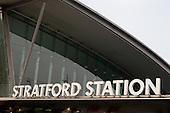 Stratford station, London