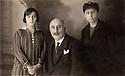 Egypt 1927 .Cairo:Sureya Bedir Khan and his children, Kudret and Hakki.Egypte 1927.Le Caire: Sureya Bedir Khan et ses enfants, Kudret et Hakki