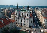 Tschechien, Prag, Altstaedter Ring, Nikolauskirche
