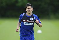 Alejandro Faurlin of QPR in training