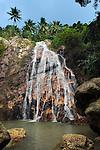 Thailand, Southern Thailand, Province Surat Thani, Ko Samui island: Namuang waterfall | Thailand, Suedthailand, Provinz Surat Thani, Insel Ko Samui: Namuang Wasserfall