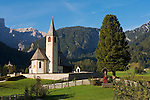 Italy, South Tyrol, Alto Adige, Upper Pusteria Valley, San Vito: parish church