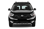 Car photography straight front view of a 2017 Dacia Dokker Stepway SL Explorer 5 Door Mini Van