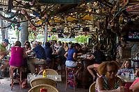 Ft. Lauderdale, Florida.  Briny Riverfront Pub, on New River.