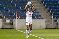 Chicago, IL - Saturday July 30, 2016: Brianne Reed during a regular season National Women's Soccer League (NWSL) match between the Chicago Red Stars and FC Kansas City at Toyota Park.