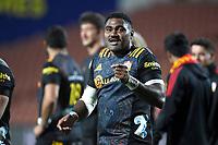 27th March 2021; Hamilton, New Zealand;  Pita Gus Sowakula.<br /> Chiefs versus Blues, Super Rugby  AOTEAROA, FMG Waikato Stadium, Hamilton, New Zealand.