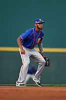 St. Lucie Mets shortstop Amed Rosario (11) during a game against the Bradenton Marauders on April 11, 2015 at McKechnie Field in Bradenton, Florida.  St. Lucie defeated Bradenton 3-2.  (Mike Janes/Four Seam Images)