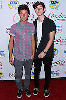 BEVERLY HILLS, CA, USA - AUGUST 09: Nash Grier, Cameron Dallas at the DigiTour and Candie's Official Teen Choice Awards 2014 Pre-Party held at The Gibson Showroom on August 9, 2014 in Beverly Hills, California, United States. (Photo by Xavier Collin/Celebrity Monitor)